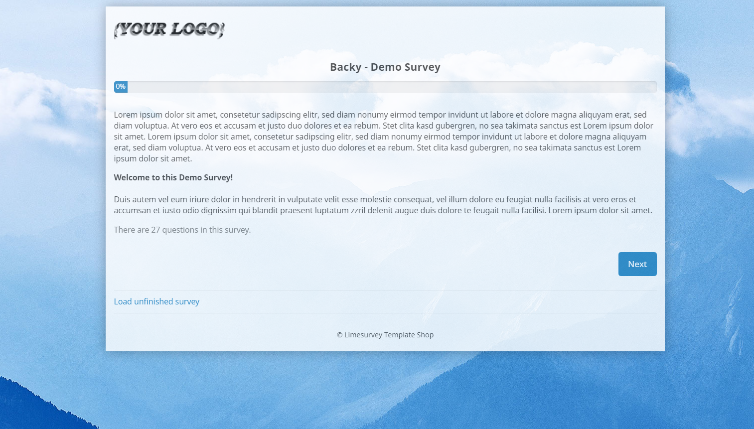 limesurvey_theme_backy_welcome_page