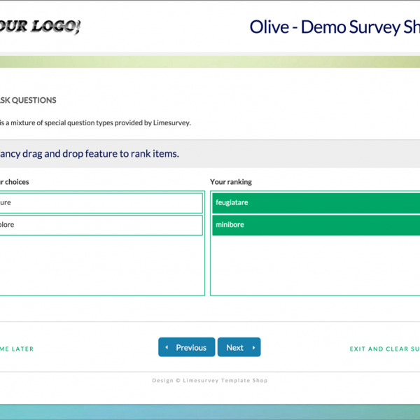 Limesurvey Template Olive