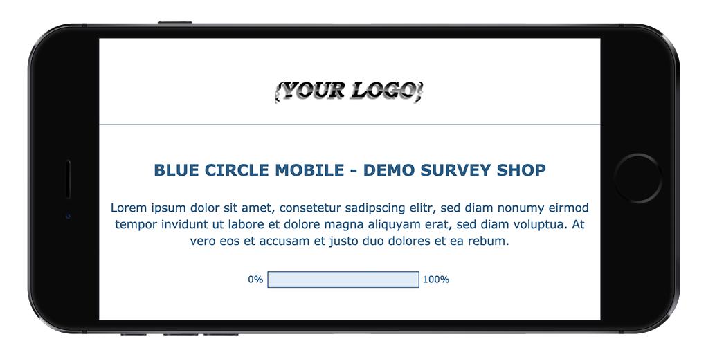 Limesurvey Template Blue Circle Mobile