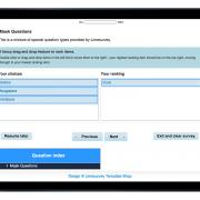 Limesurvey Template iPad Tuned Blue